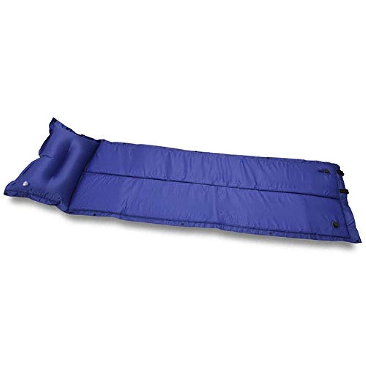 病気だと思う闇学部膨脹可能なベッド枕が付いている屋外の自動膨脹可能なベッド膨脹可能なベッドは接続することができます膨脹可能なキャンプの湿気防止の膨脹可能なベッド(色:A)