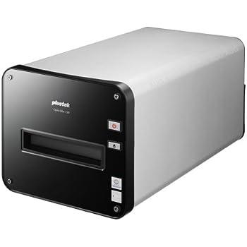オーグ Plustek OpticFilm 120 ブローニー対応/赤外線ゴミチェック補正機能iSRD付 高解像度フィルムスキャナー USB接続(Windows/Mac) OpticFilm120