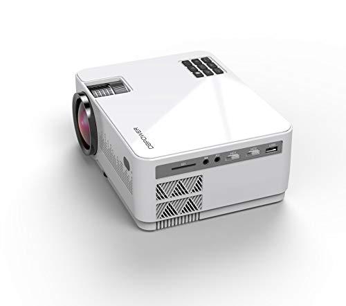 【2019最新型4200lm】DBPOWER 4200lm プロジェクター 1080PフルHD対応 LEDプロジェクター 三年保証 1920×10...