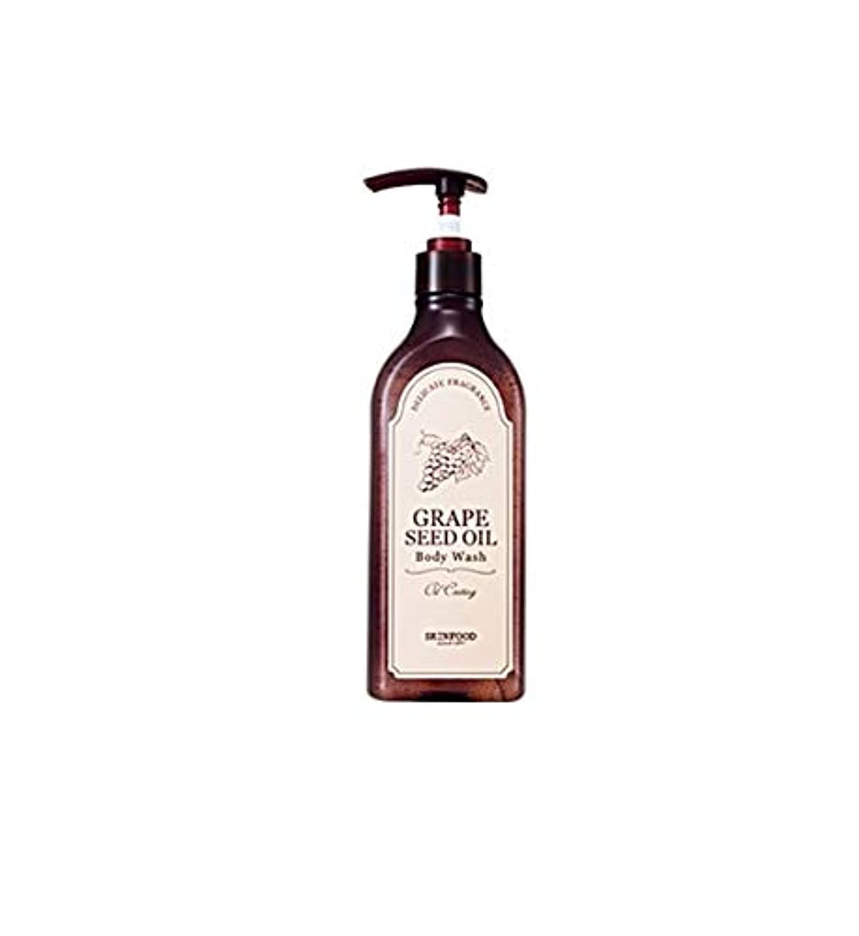 カストディアン主要な不純Skinfood グレープシードオイルボディウォッシュ/Grape Seed Oil Body Wash 335ml [並行輸入品]