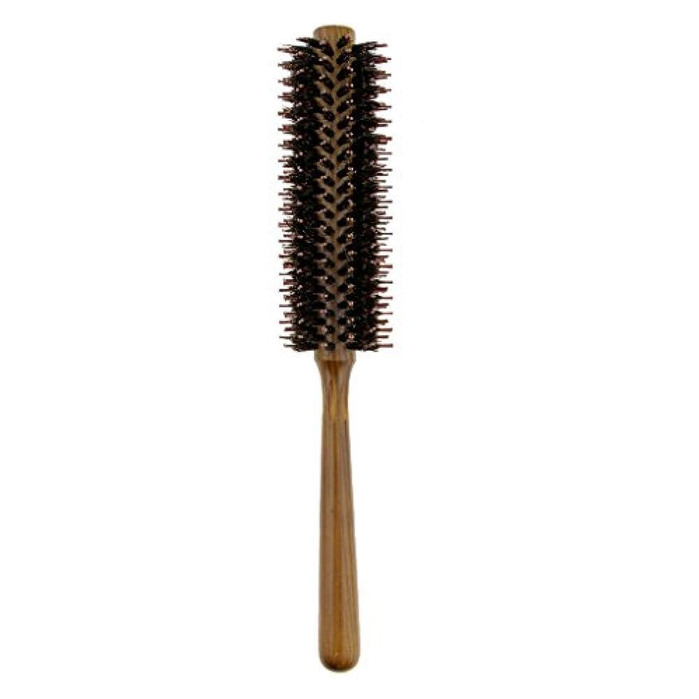 開梱害数値Toygogo ヘアブラシカーリングヘアラウンドブラシバレルヘアスタイリングコームヘアブラシ - S