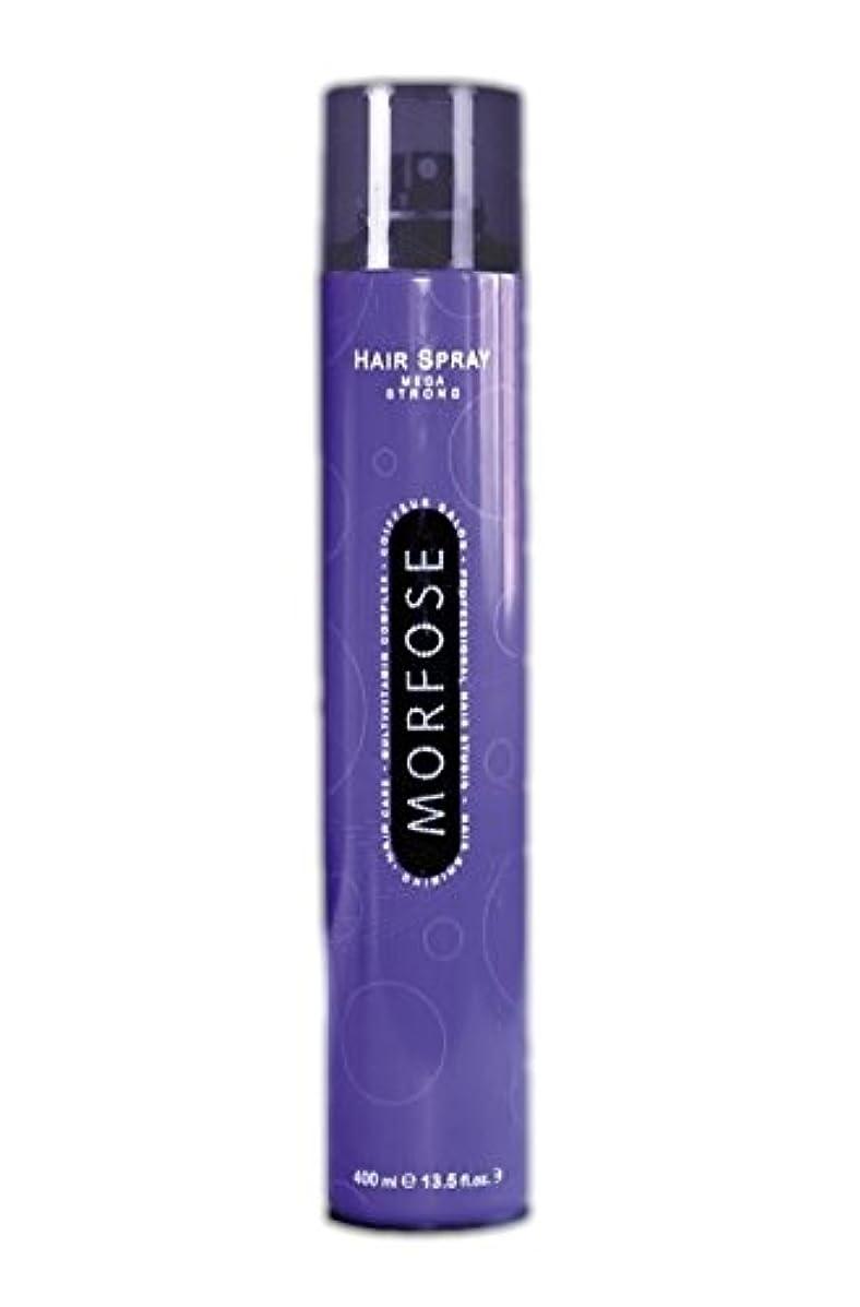 買い物に行く始まりくつろぐMorfose プロヘアスプレー - メガStrong- 13.52オンス/ 400ミリリットル