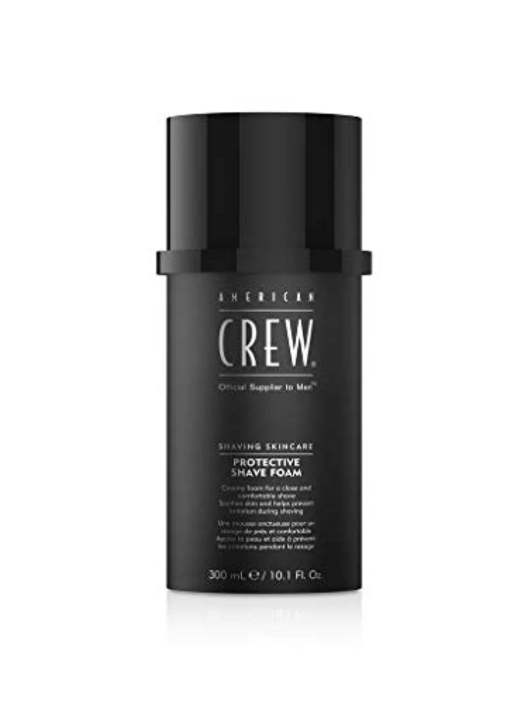 昇る弱い葬儀American Crew Protective Shave Foam 300ml