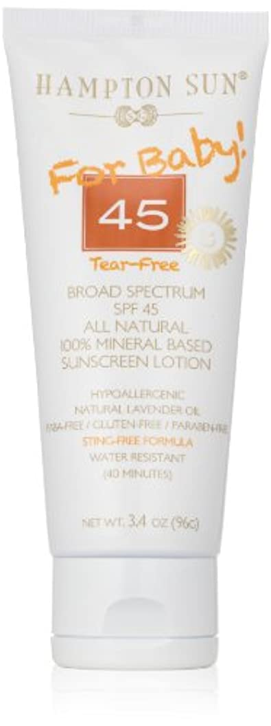 筋肉のエントリ創傷Hampton Sun - SPF 45 Mineral For Baby (3.4 oz.)