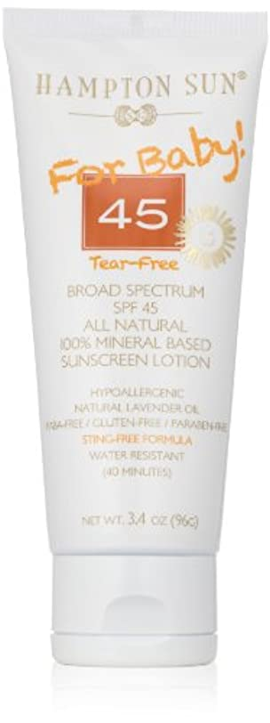今までクローゼット十一Hampton Sun - SPF 45 Mineral For Baby (3.4 oz.)