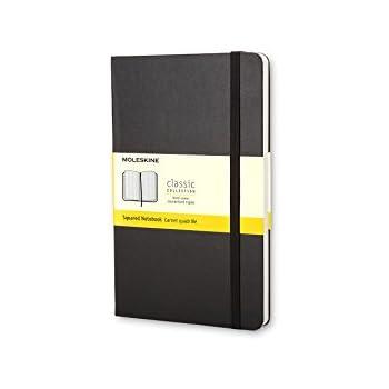 モレスキン ノート クラシック ノートブック ハードカバー 方眼 ラージサイズ ブラック QP061.