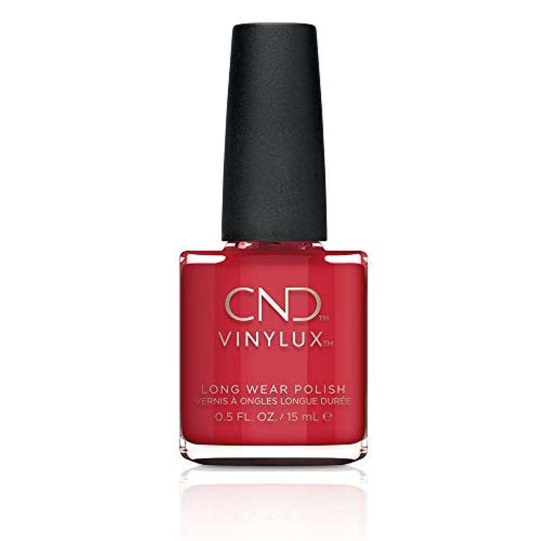 崇拝するレトルト純粋にCND Vinylux Weekly Polish Colore 143 Rouge Red 15ml