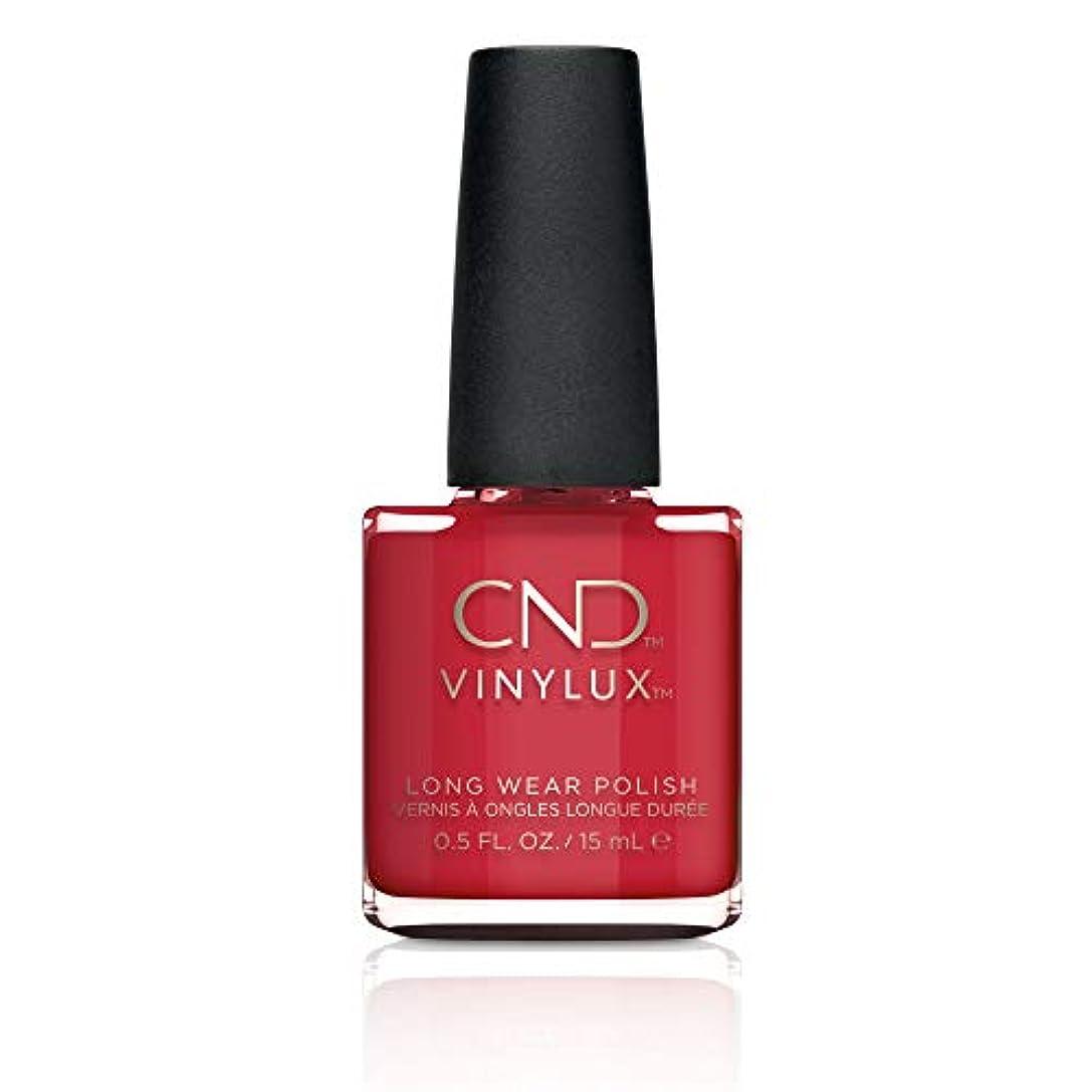 相反する比べる赤CND Vinylux Weekly Polish Colore 143 Rouge Red 15ml