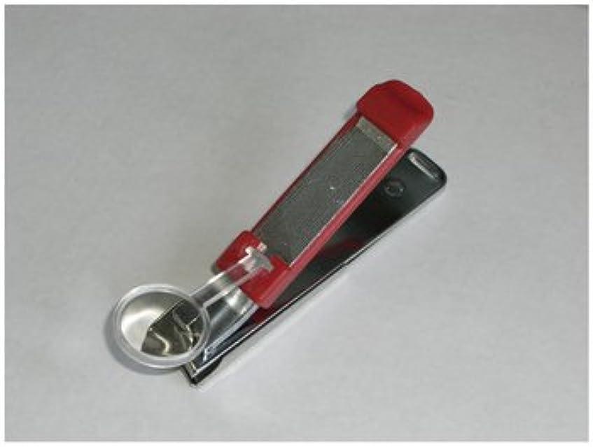 検出典型的な叫ぶルーペ付き爪切り ワイドクリッパーW2000