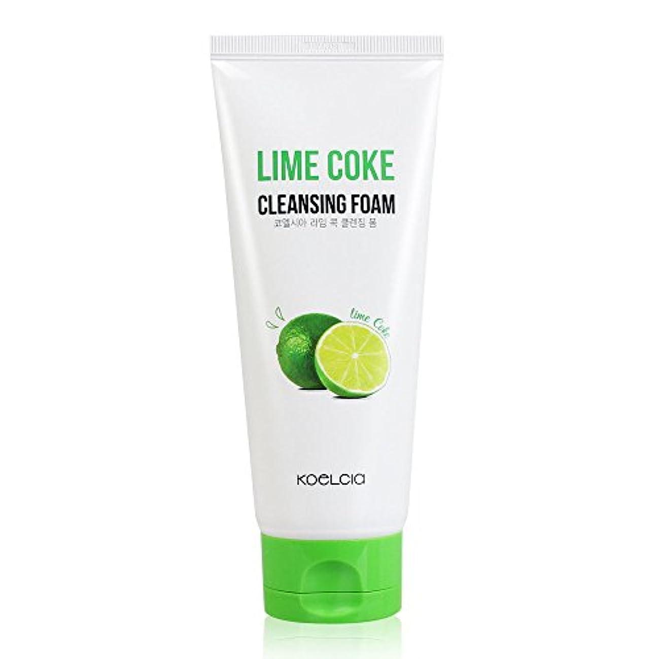 開発するマントルサスティーンKOELCIA Lime Coke Cleansing Foam 120ml/コエルシア ライム コーク クレンジングフォーム 120ml [並行輸入品]