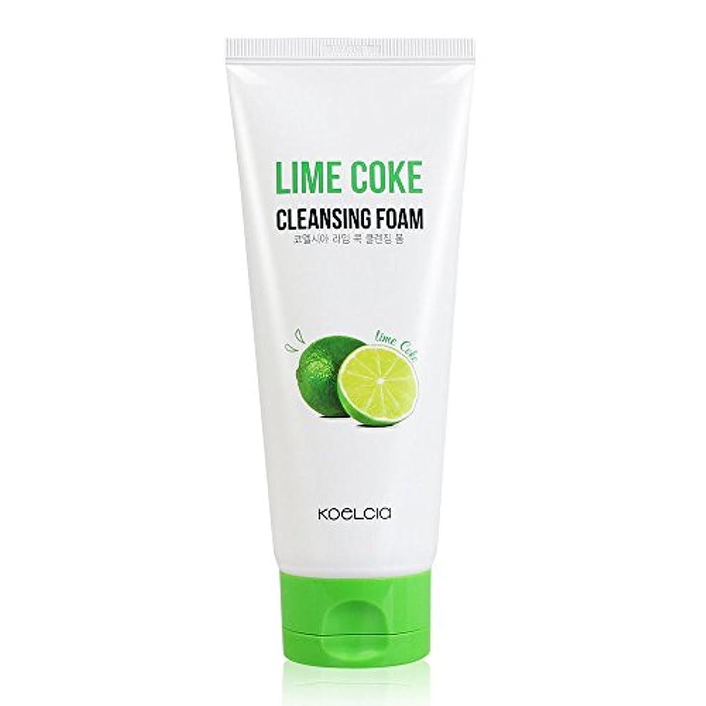 包帯ジャンプ力学KOELCIA Lime Coke Cleansing Foam 120ml/コエルシア ライム コーク クレンジングフォーム 120ml [並行輸入品]