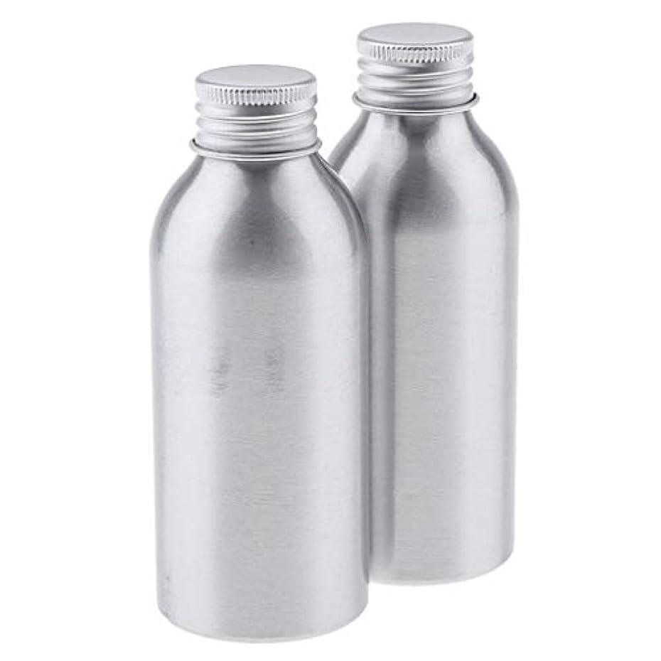 石の溶岩発信T TOOYFUL アルミボトル 空ボトル 化粧品収納容器 ディスペンサーボトル 旅行 アウトドア 2本 全5サイズ - 120ml