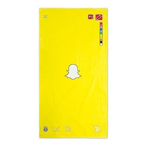 公式Snapchatビーチタオル