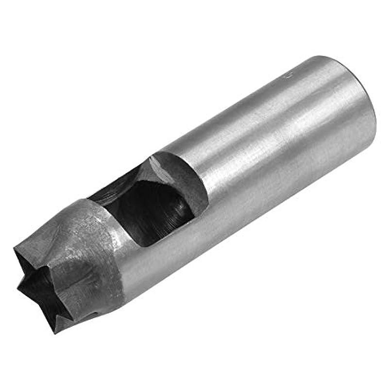 ダブルジョグバスケットボールuxcell ガスケット中空レザーツール DIYレザークラフト用 45#スチール材料 108x30mm