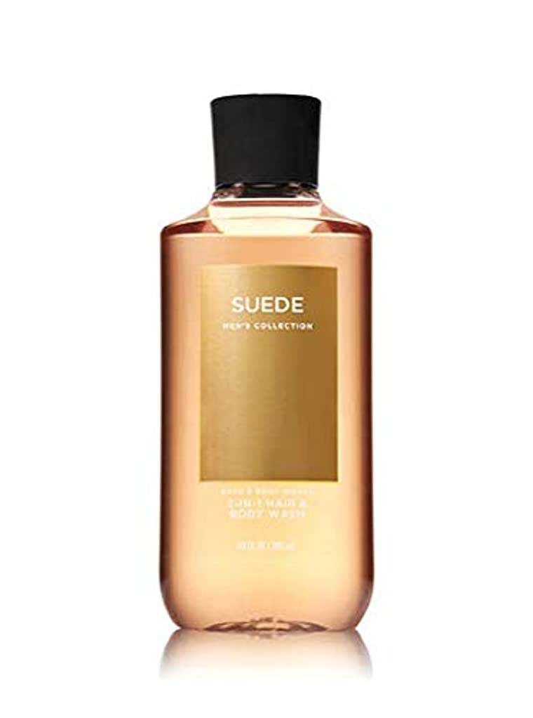 印象派答え序文【並行輸入品】Bath & Body Works Suede 2-in-1 Hair + Body Wash 295 mL