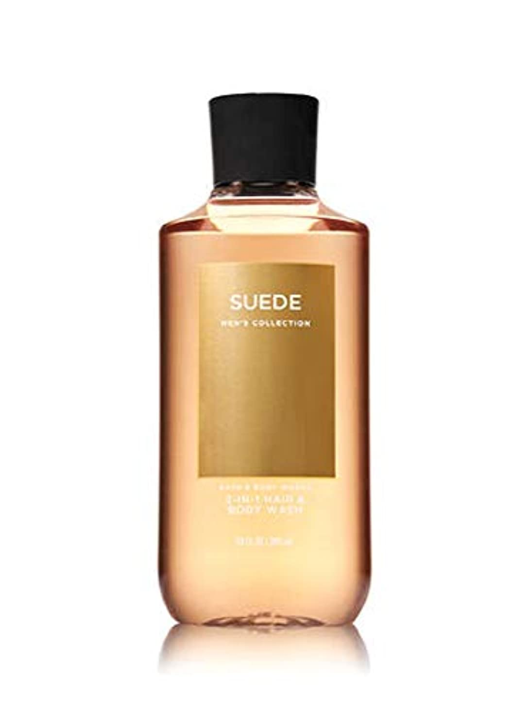 積分巡礼者幾何学【並行輸入品】Bath & Body Works Suede 2-in-1 Hair + Body Wash 295 mL