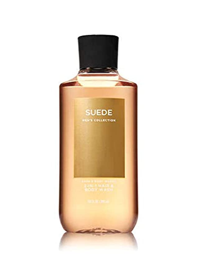 動的学者降臨【並行輸入品】Bath & Body Works Suede 2-in-1 Hair + Body Wash 295 mL
