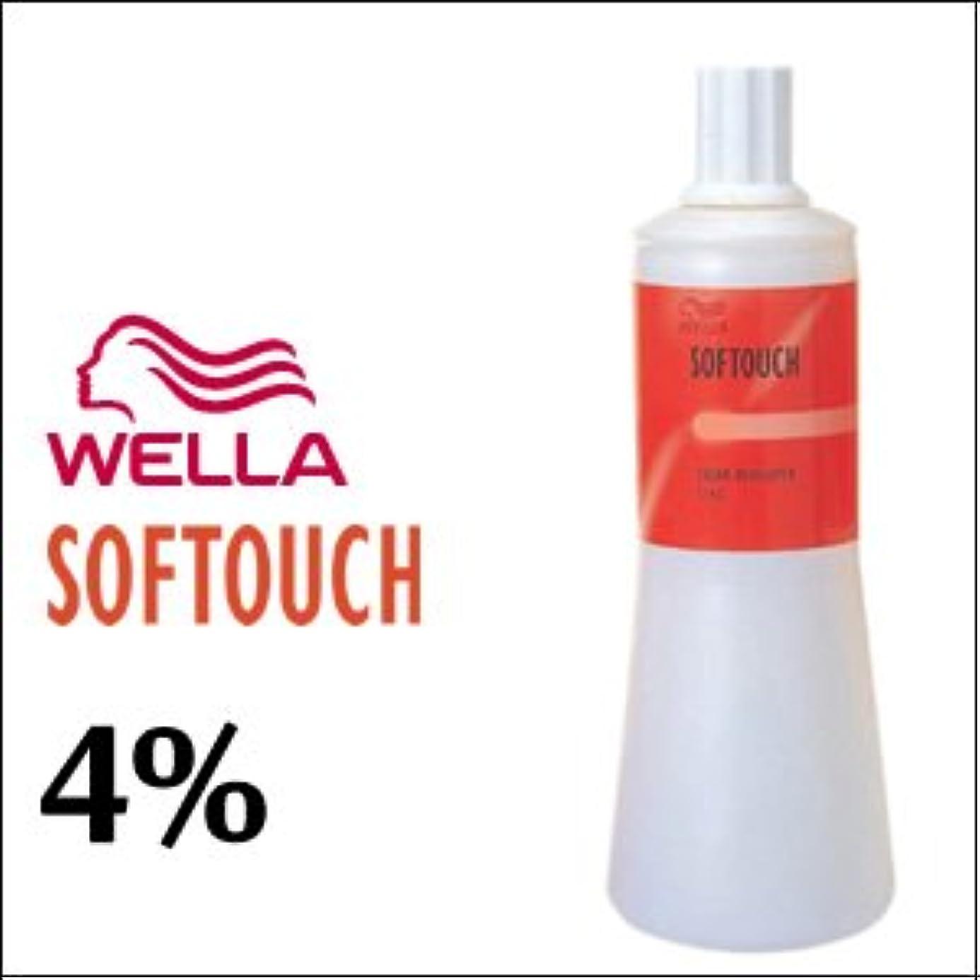 におい埋め込む気配りのあるウエラ ソフタッチ クリームディベロッパー 4% 1L