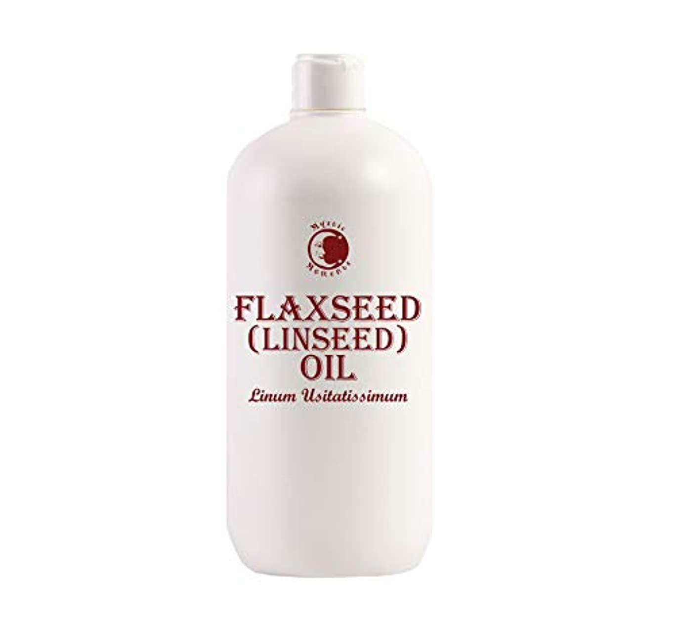 ゲスト本気民族主義Mystic Moments | Flaxseed (Linseed) Carrier Oil - 1 Litre - 100% Pure