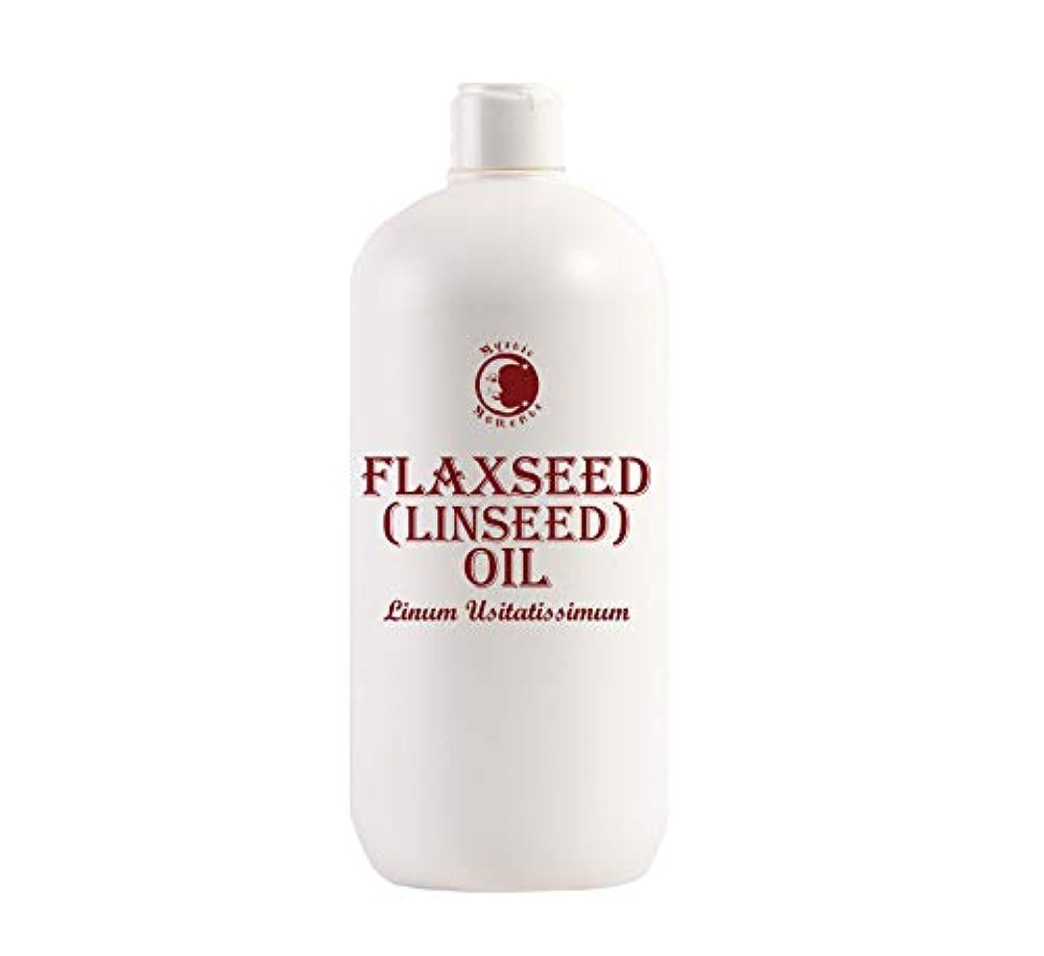 市場思想郵便物Mystic Moments | Flaxseed (Linseed) Carrier Oil - 1 Litre - 100% Pure