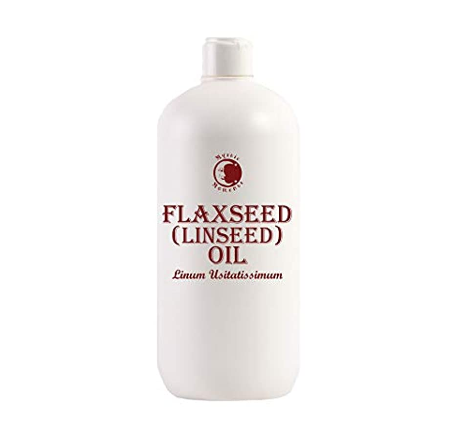 Mystic Moments | Flaxseed (Linseed) Carrier Oil - 1 Litre - 100% Pure