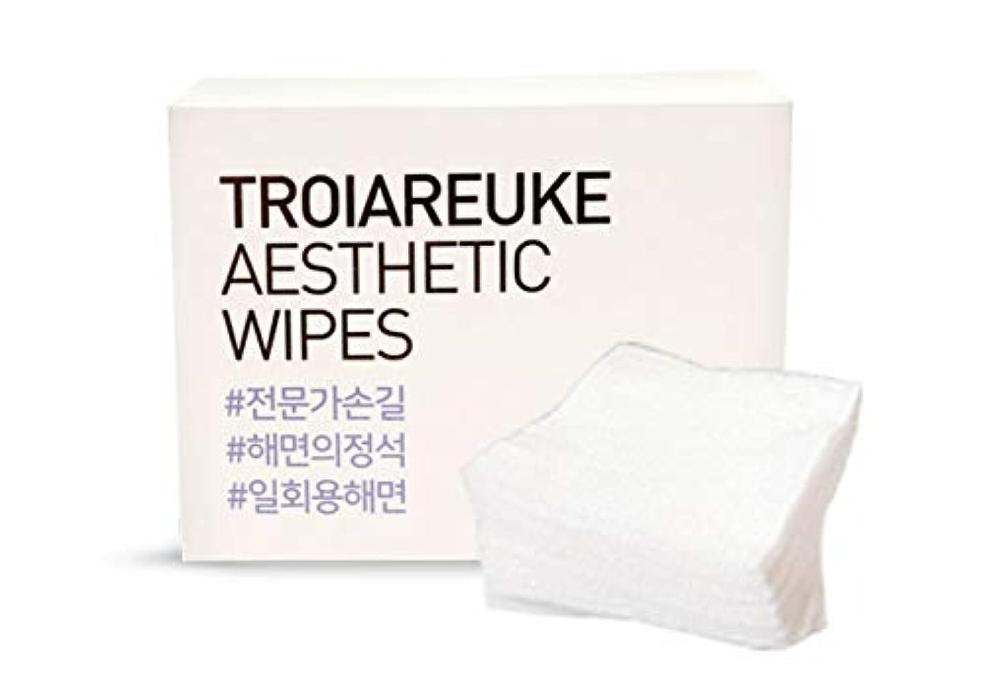 登山家流統治可能TROIAREUKE (トロイアルケ) エステティック 海綿 コットン/Aesthetic Wipes (100枚)