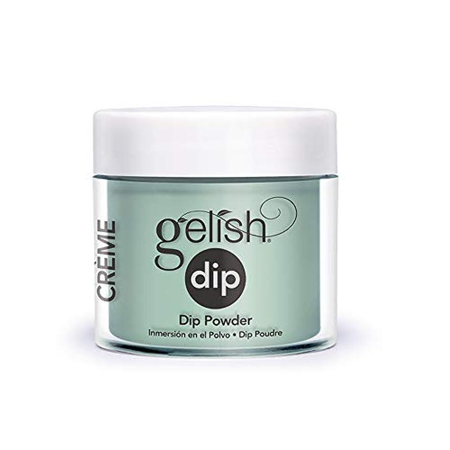 ソース前に履歴書Harmony Gelish - Acrylic Dip Powder - A Mint of Spring - 23g / 0.8oz