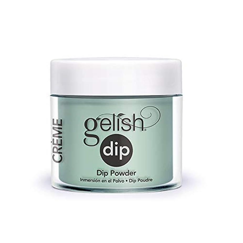 仲間、同僚忠実今Harmony Gelish - Acrylic Dip Powder - A Mint of Spring - 23g / 0.8oz