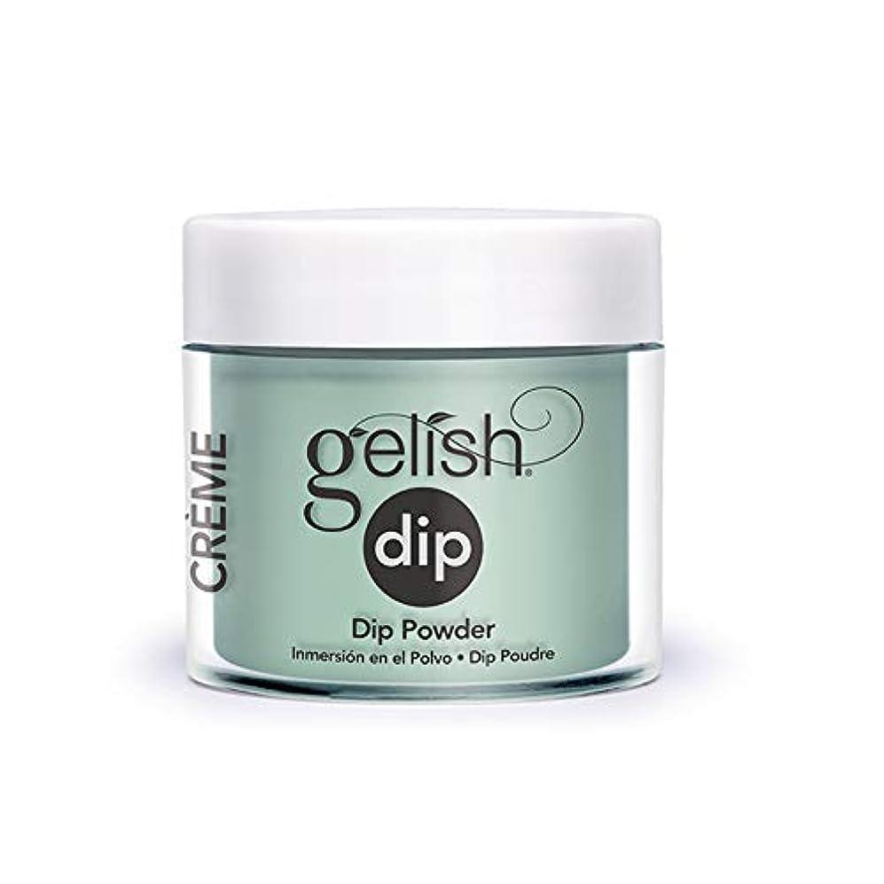 不正直ポーチいじめっ子Harmony Gelish - Acrylic Dip Powder - A Mint of Spring - 23g / 0.8oz