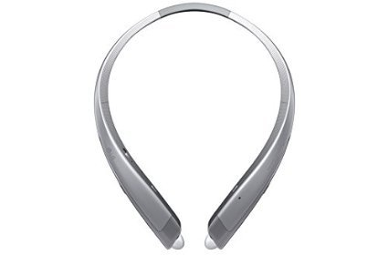 LG Tone Platinum hbs-1100ヘッドセットの耳の後ろthe-neckマウントワイヤレスヘッドフォン–ブラック(認定Refurbished ) HBS1100-SV-A2