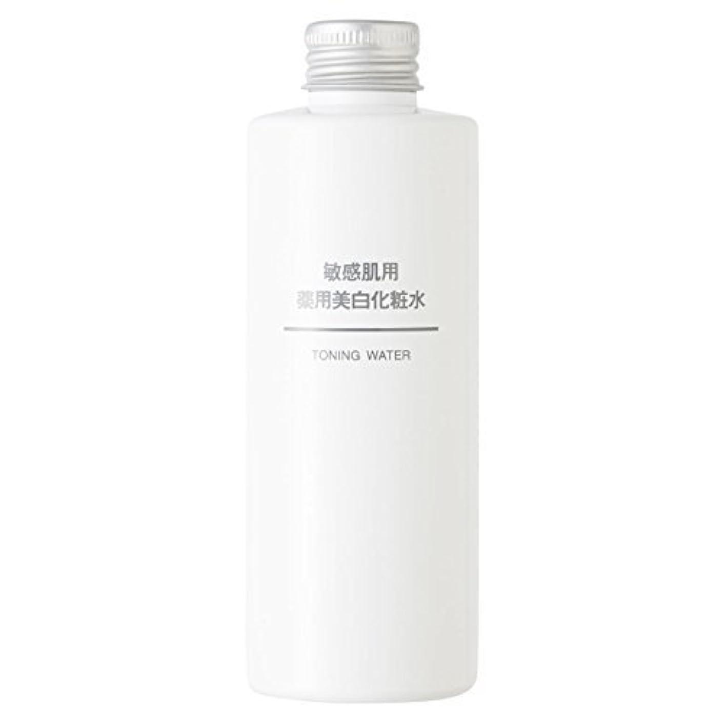 復活硬化する概要無印良品 敏感肌用 薬用美白化粧水 (新)200ml