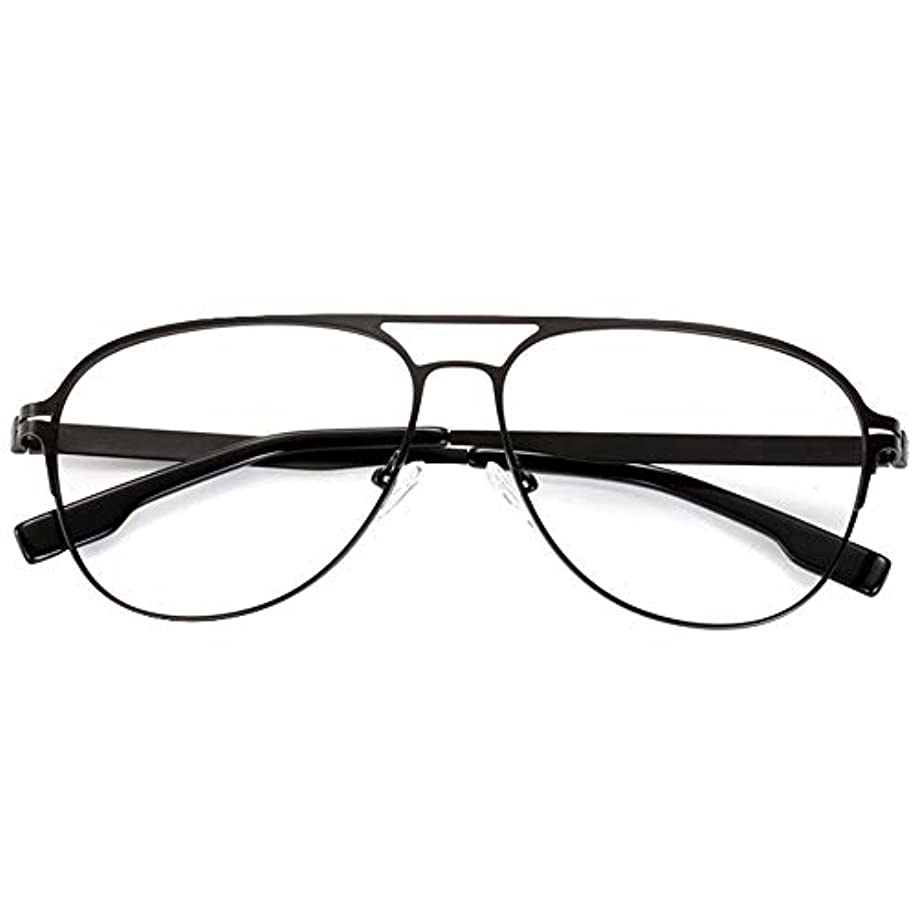 抗疲労老眼鏡、 ビジネス 折りたたみ式アロイフレーム アンチブルーライト 耐摩耗性 HD老眼鏡、 裁縫工芸品携帯電話の鑑賞新聞の読書に適しています