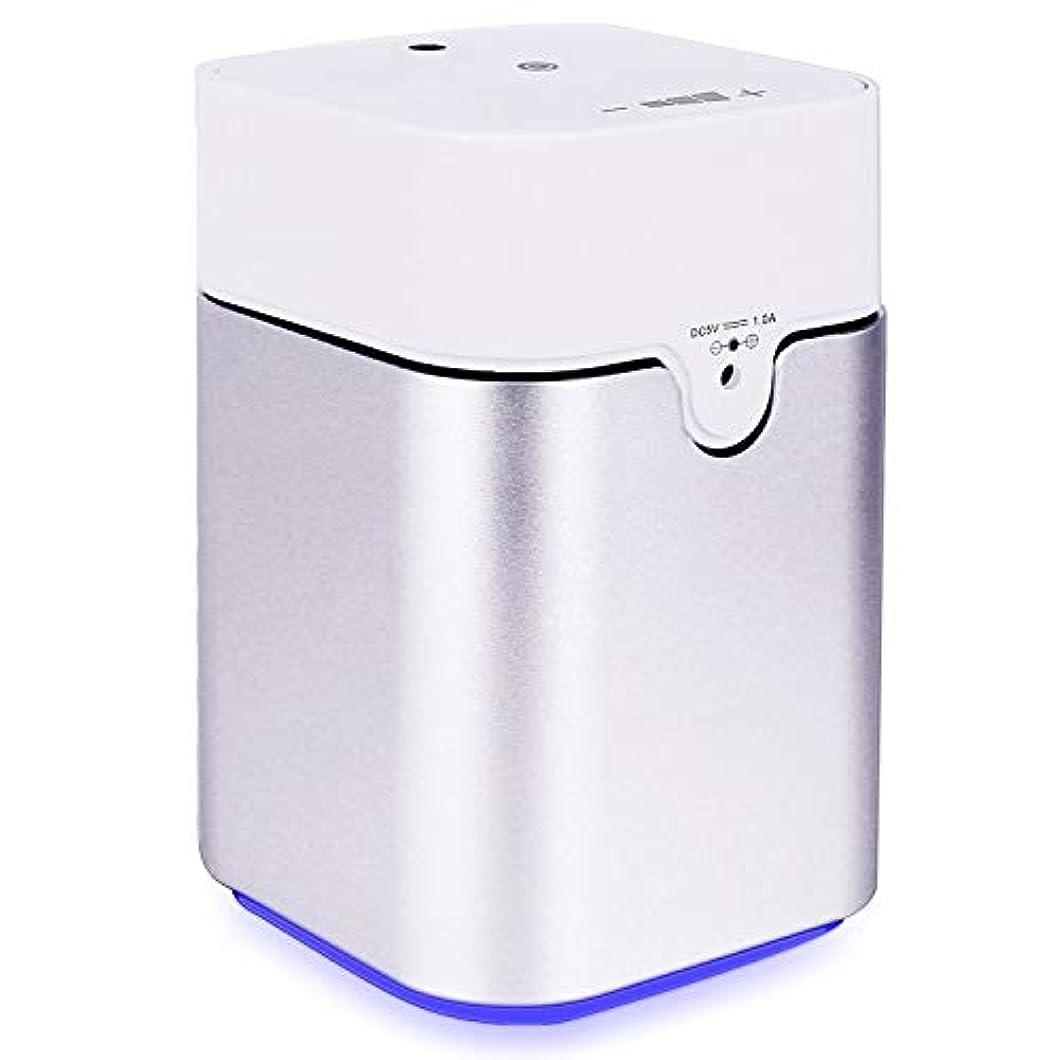 手のひらステッチウサギENERG e's Pure アロマディフューザー ヨガ室 整体院人気 タイマー機能 ネブライザー式 量調整可能 精油瓶3個付き T11-ENS082