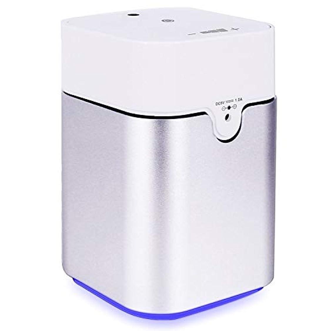 飢饉答えたらいENERG e's Pure アロマディフューザー ヨガ室 整体院人気 タイマー機能 ネブライザー式 量調整可能 精油瓶3個付き T11-ENS082