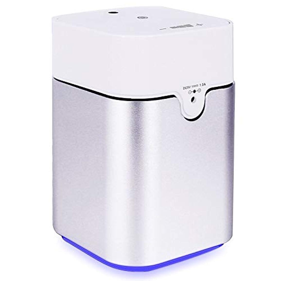 ゼロ入力極貧ENERG e's Pure アロマディフューザー ヨガ室 整体院人気 タイマー機能 ネブライザー式 量調整可能 精油瓶3個付き T11-ENS082