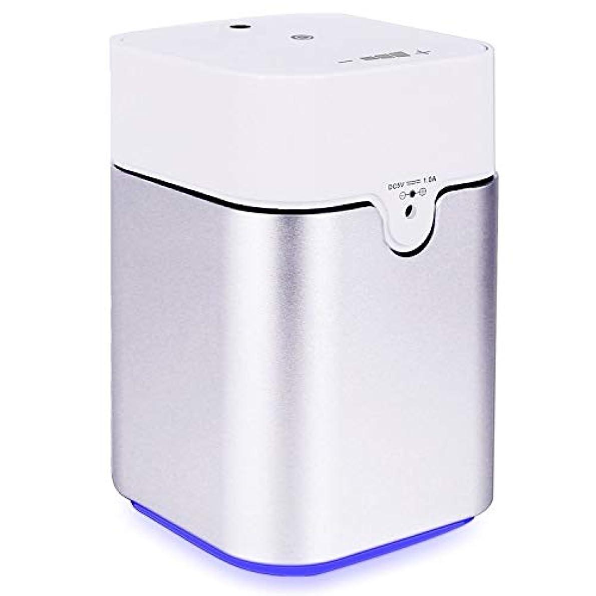 消化科学者変色するENERG e's Pure アロマディフューザー ヨガ室 整体院人気 タイマー機能 ネブライザー式 量調整可能 精油瓶3個付き T11-ENS082