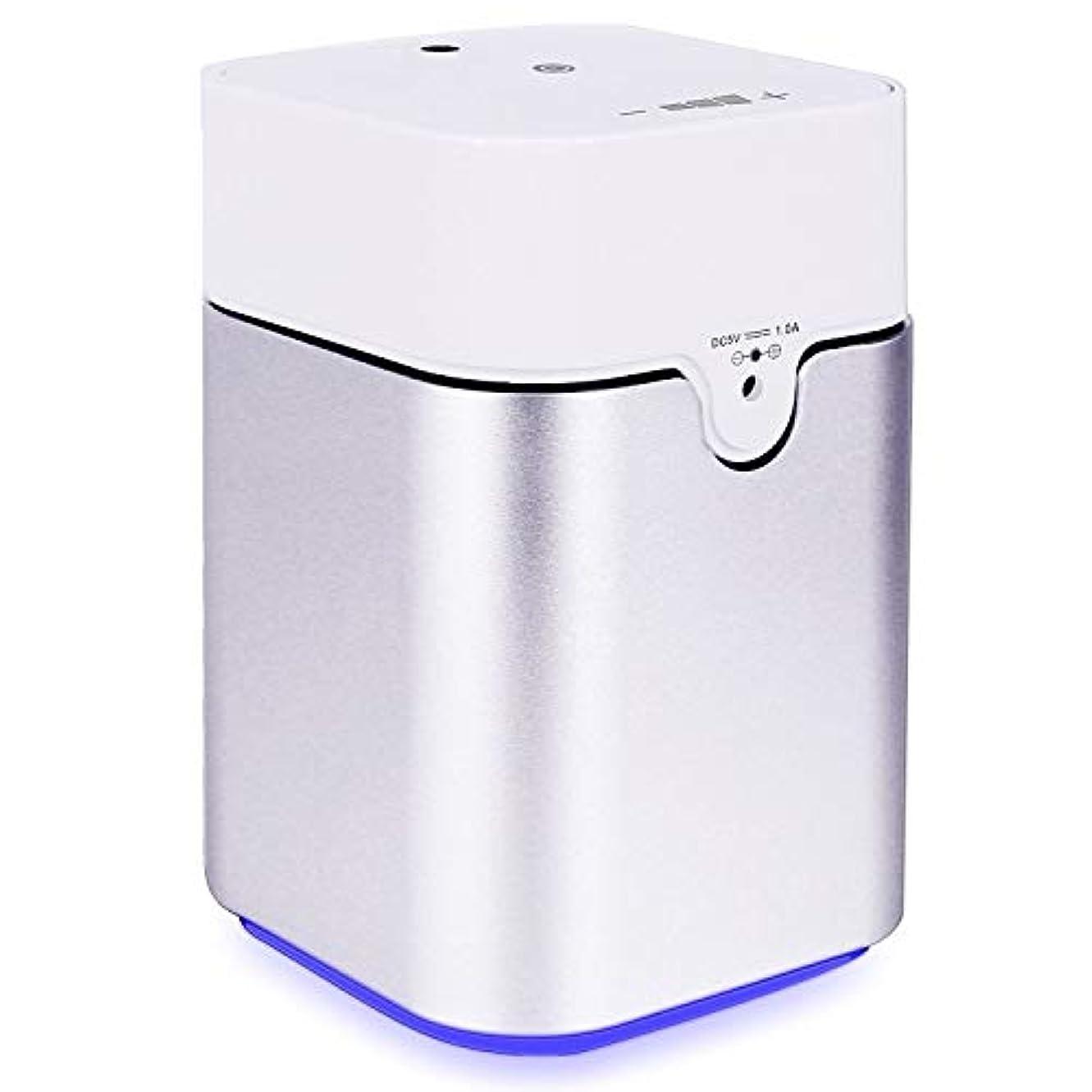 限界入射デコードするENERG e's Pure アロマディフューザー ヨガ室 整体院人気 タイマー機能 ネブライザー式 量調整可能 精油瓶3個付き T11-ENS082