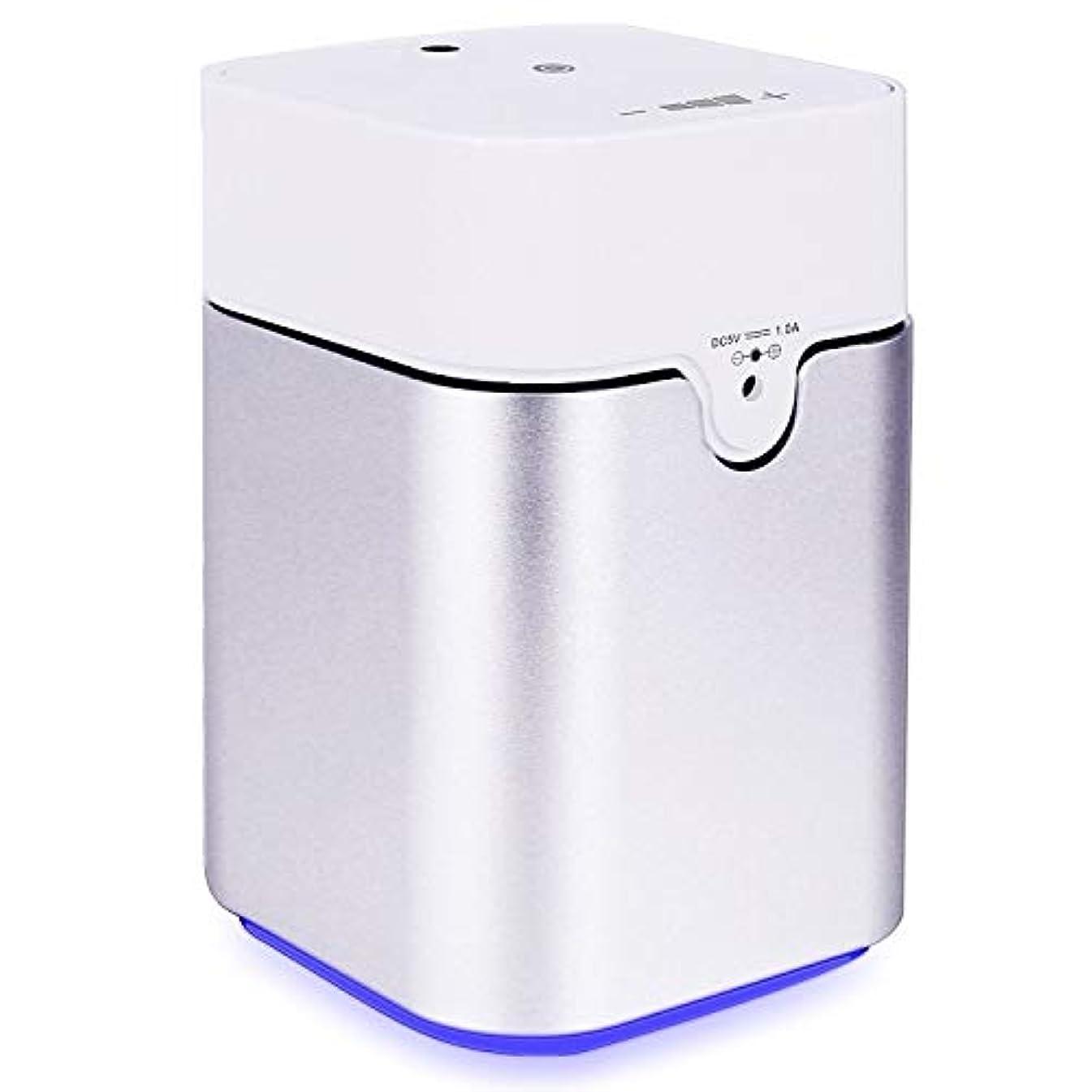 廃棄する達成噴出するENERG e's Pure アロマディフューザー ヨガ室 整体院人気 タイマー機能 ネブライザー式 量調整可能 精油瓶3個付き T11-ENS082