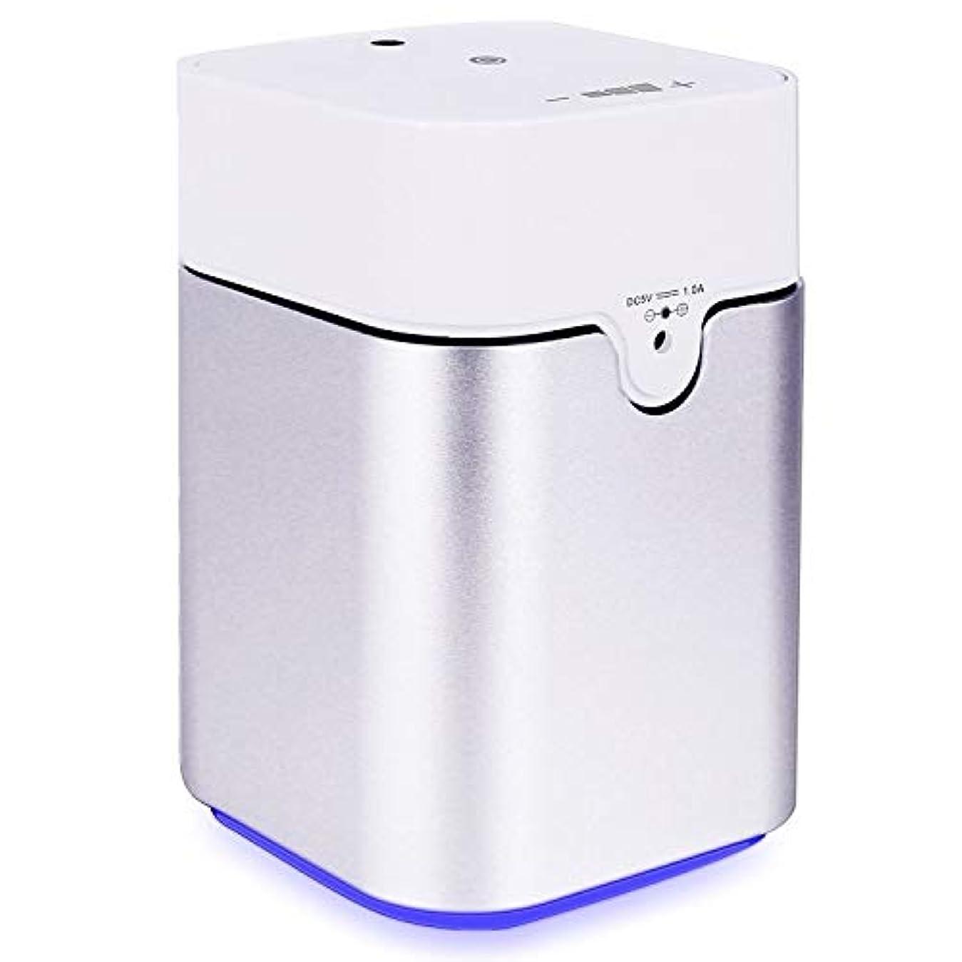 感情鳥権威ENERG e's Pure アロマディフューザー ヨガ室 整体院人気 タイマー機能 ネブライザー式 量調整可能 精油瓶3個付き T11-ENS082