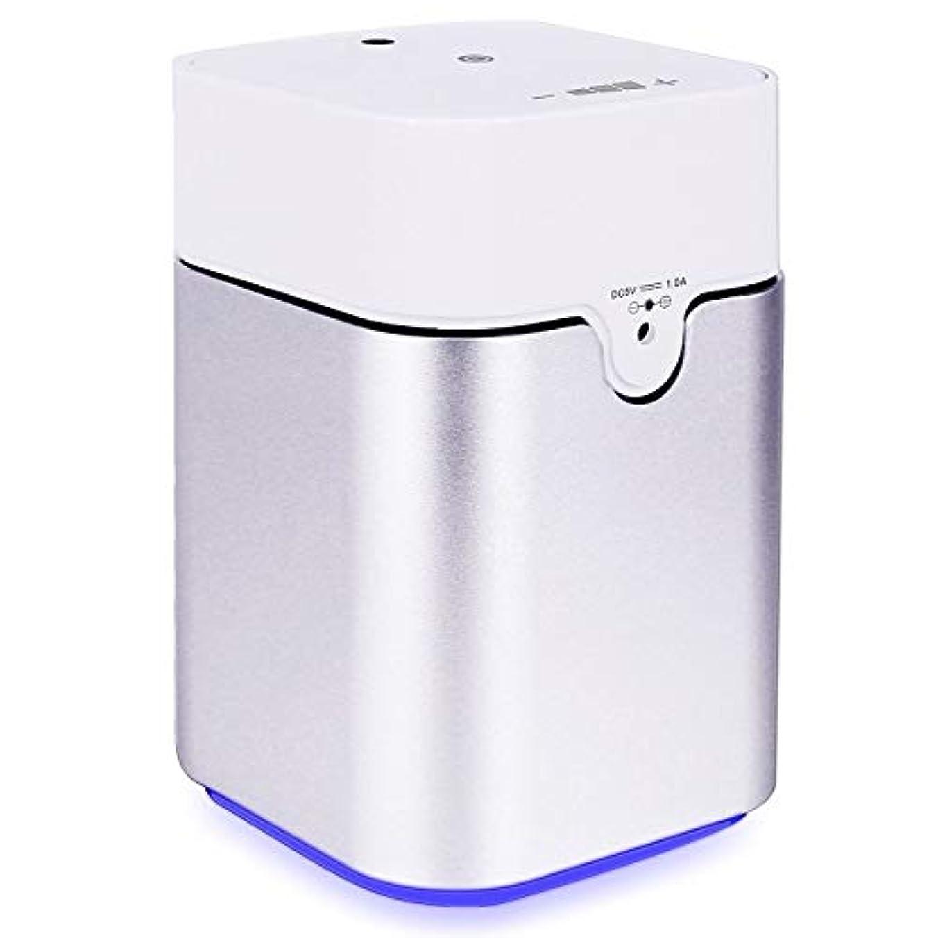 先入観着替える石膏ENERG e's Pure アロマディフューザー ヨガ室 整体院人気 タイマー機能 ネブライザー式 量調整可能 精油瓶3個付き T11-ENS082