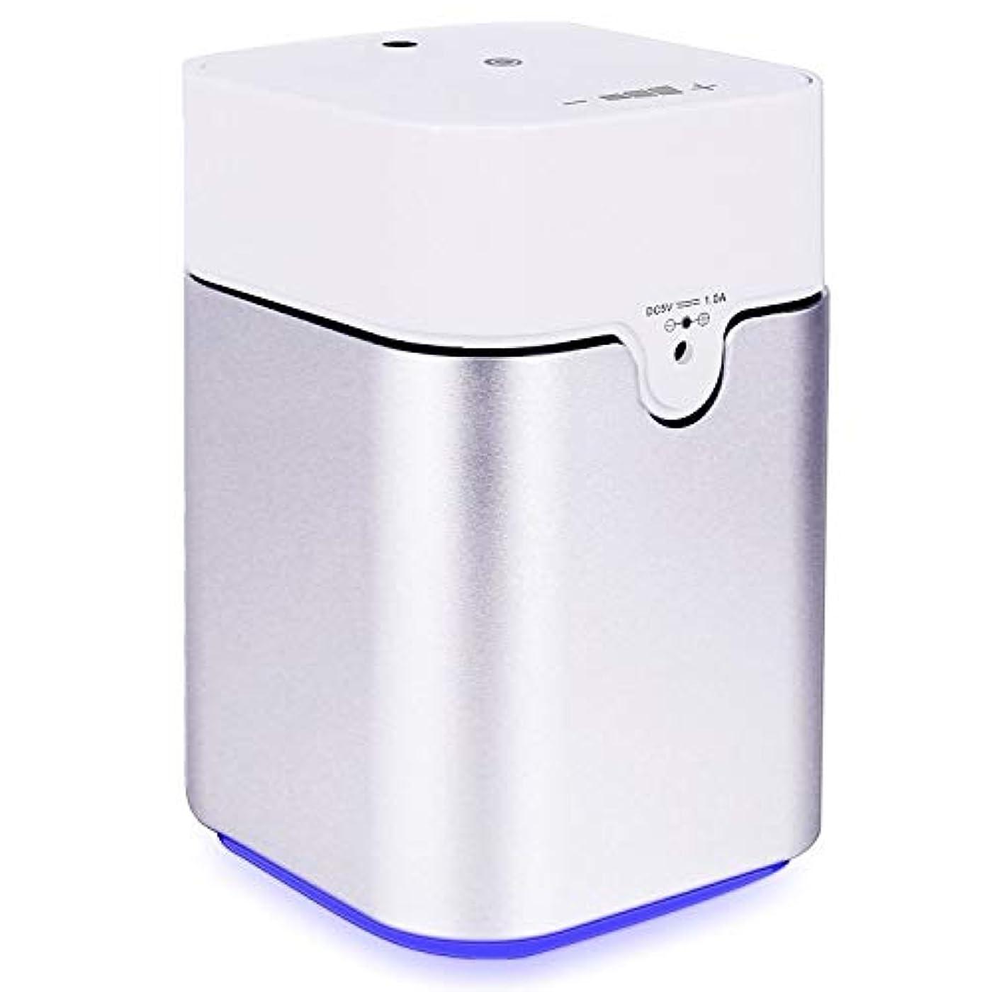 ラダ旅百万ENERG e's Pure アロマディフューザー ヨガ室 整体院人気 タイマー機能 ネブライザー式 量調整可能 精油瓶3個付き T11-ENS082