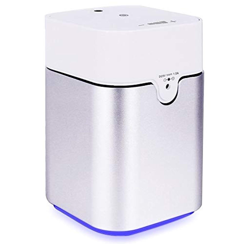 たくさん追加象ENERG e's Pure アロマディフューザー ヨガ室 整体院人気 タイマー機能 ネブライザー式 量調整可能 精油瓶3個付き T11-ENS082