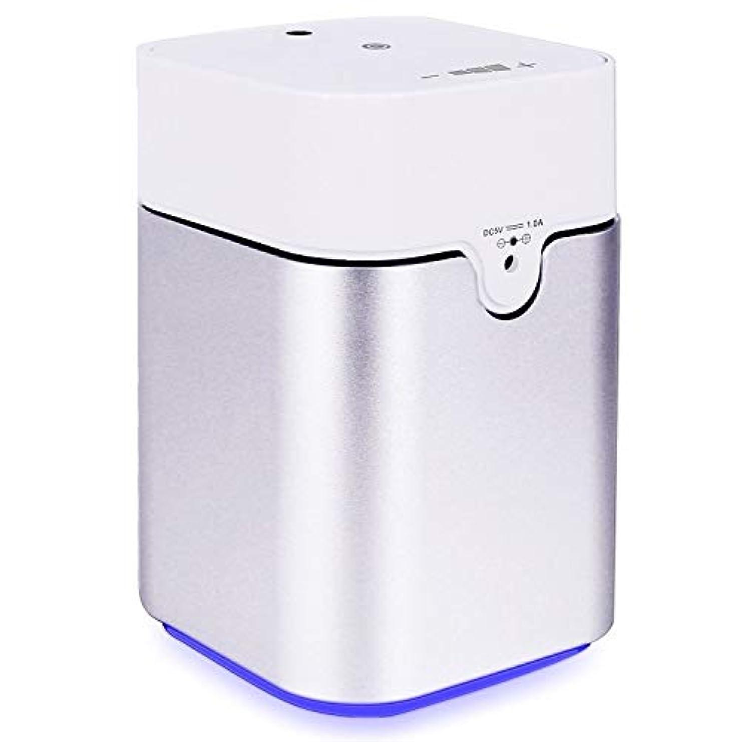 落ち着いてモールス信号緩やかなENERG e's Pure アロマディフューザー ヨガ室 整体院人気 タイマー機能 ネブライザー式 量調整可能 精油瓶3個付き T11-ENS082