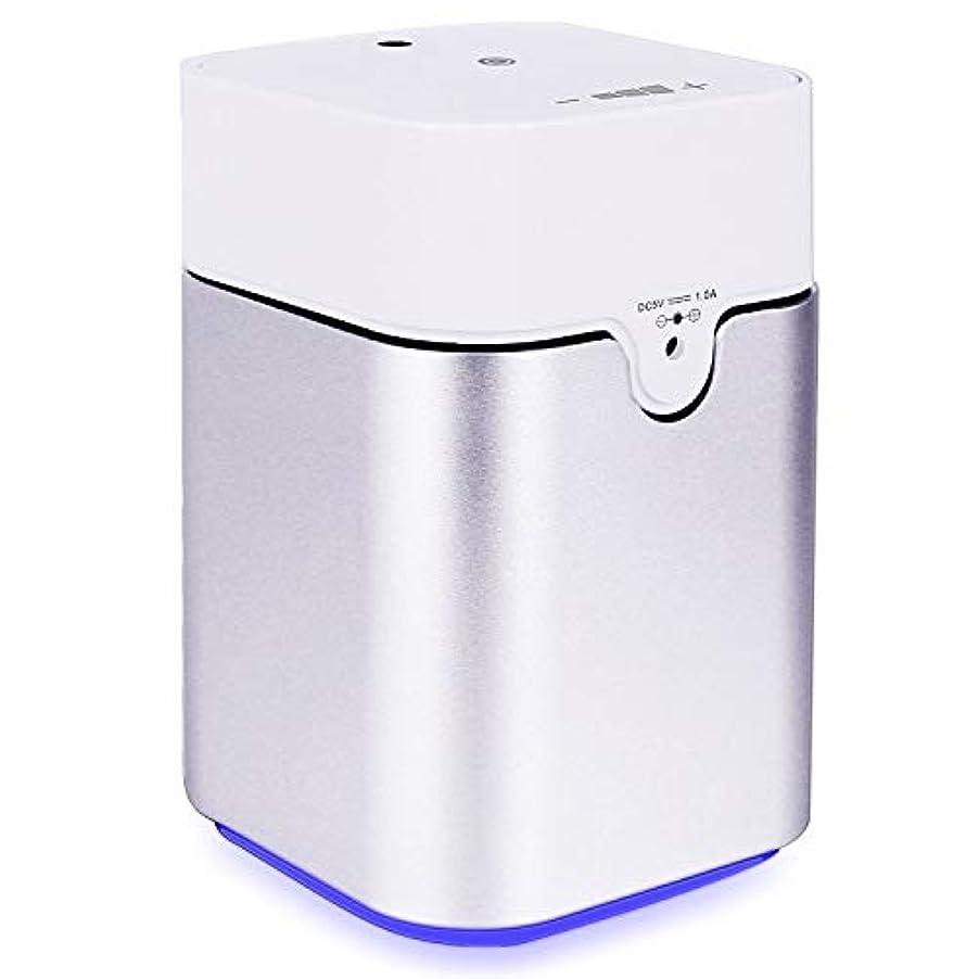 盲目においエアコンENERG e's Pure アロマディフューザー ヨガ室 整体院人気 タイマー機能 ネブライザー式 量調整可能 精油瓶3個付き T11-ENS082
