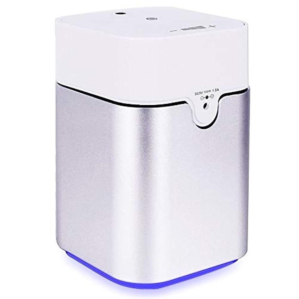 不名誉なマイコン窓を洗うENERG e's Pure アロマディフューザー ヨガ室 整体院人気 タイマー機能 ネブライザー式 量調整可能 精油瓶3個付き T11-ENS082