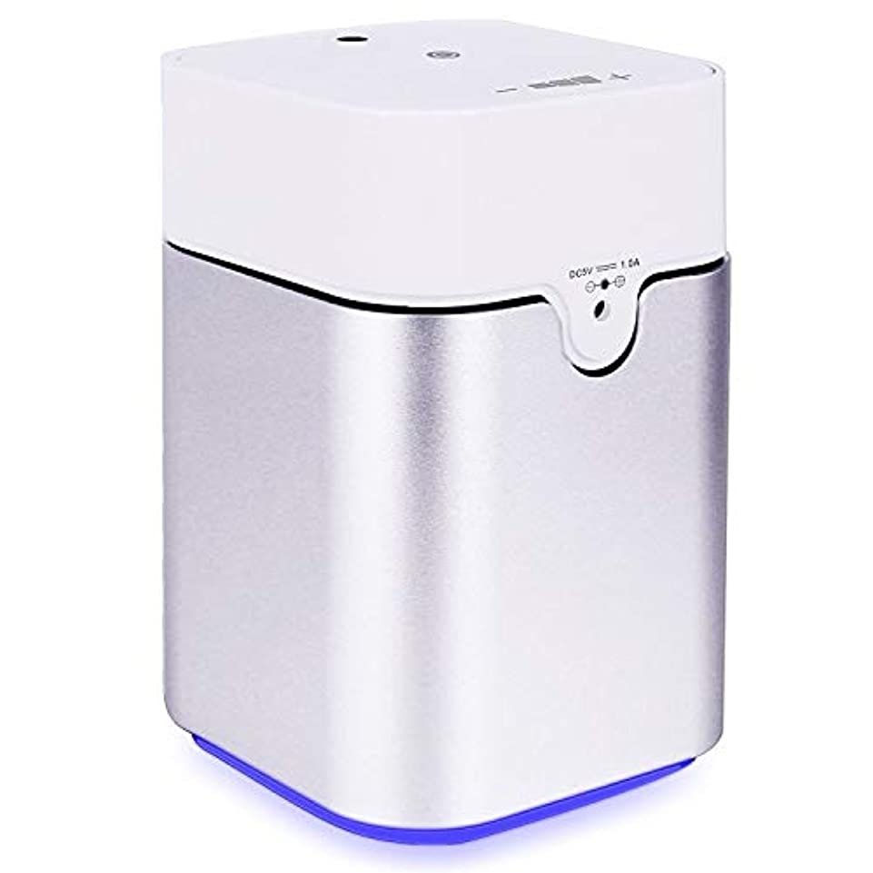 パターンチート征服ENERG e's Pure アロマディフューザー ヨガ室 整体院人気 タイマー機能 ネブライザー式 量調整可能 精油瓶3個付き T11-ENS082