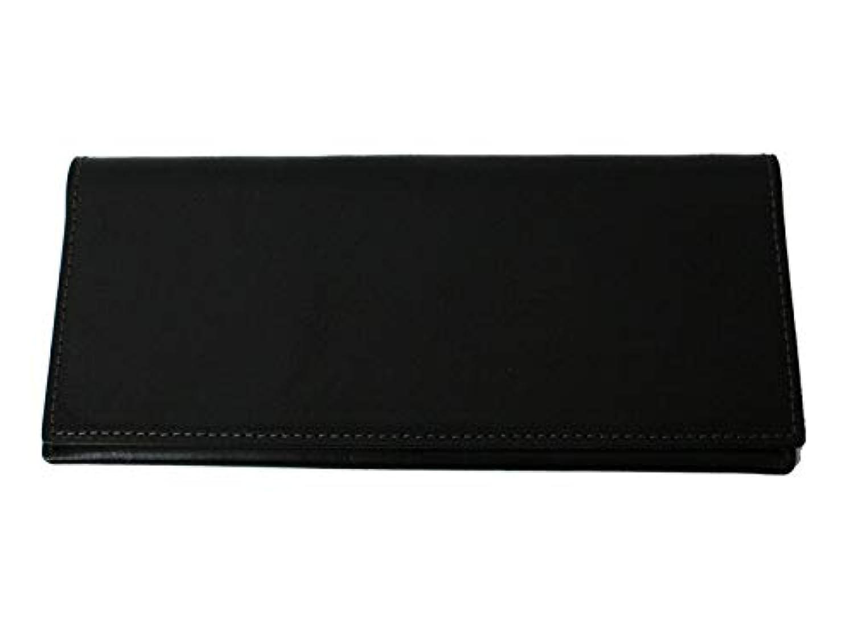 栃木レザー使用 本革製 薄型長財布(小銭入れ無し)