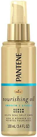 Pantene Pro-v Lightweight Nourishing Hair Oil Treatment Serum for Split End Repair, 100ml