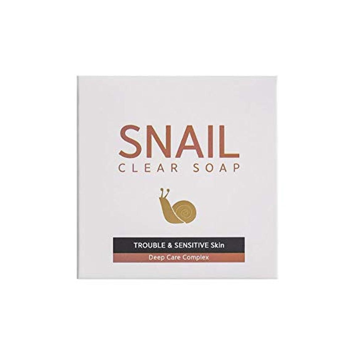 性格改善する先祖[RNT International] YUNE25 Snail Clear Soap クリア ソープ 固形 せっけん [並行輸入品]