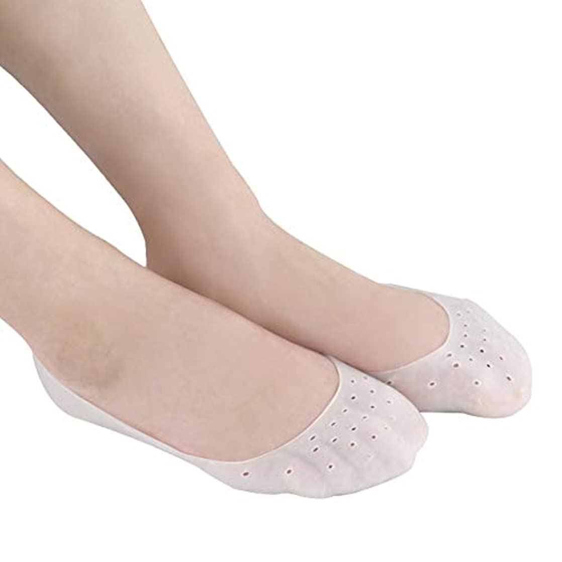 パパ一般的に言えばあいまいなTerGOOSE シリコンソックス ゲル 潤い 保湿 ジェル靴下 角質ケアパック かかと 指先ケア ひび割れ 痛みの緩和 滑り止め 伸びる 通気穴付き ソックス 足裂対策 あかぎれ対処 抗菌 乾燥 予防 衝撃吸収 皮膚保護...